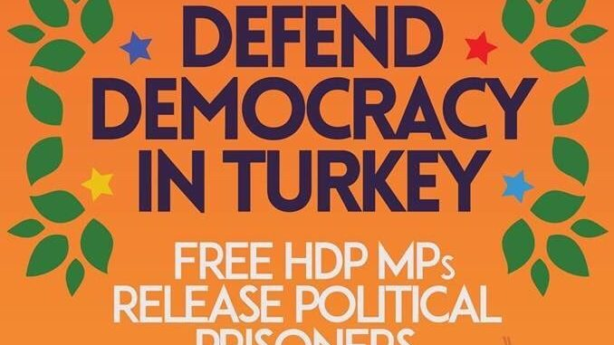 Event 7th of Nov: Conference on repression on HDP in Turkey